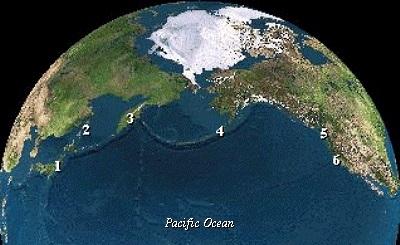 earth pacific ocean
